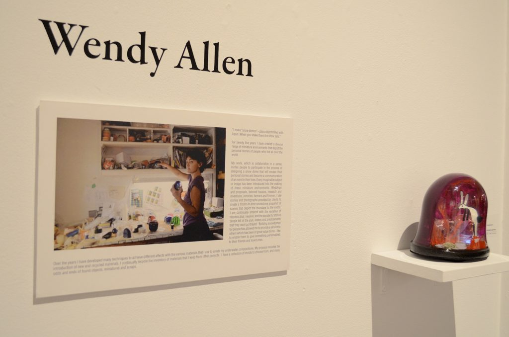 Wendy Allen is the Artist for Custom Snowdomes & snowglobes